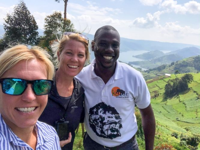 Gorilla trekking in Uganda with K safaris