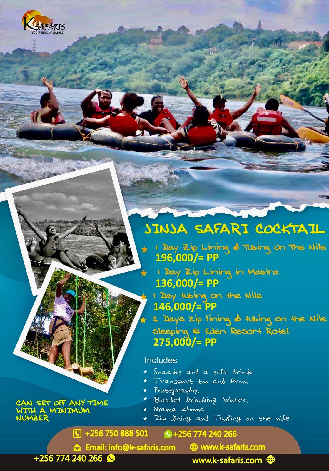 Jinja adventure fun uganda